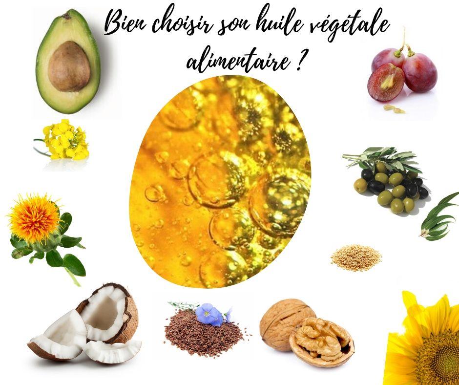 Bien choisir son huile végétale alimentaire _